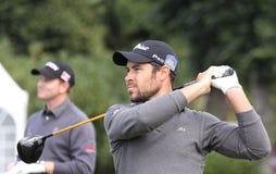 JB Gonnet, cuvette de golf de Vivendi, septembre 2010 Photographie stock