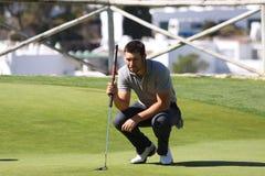 JB Gonnet a golf aperto, Marbella di Andalusia Immagine Stock