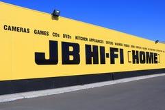 JB HI-FI Electrical appliances retailer Australia Royalty Free Stock Photo