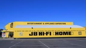 JB HI-FI Electrical appliances retailer Australia Royalty Free Stock Photography