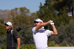 JB Kruger a golf aperto, Marbella di Andalusia Fotografia Stock Libera da Diritti