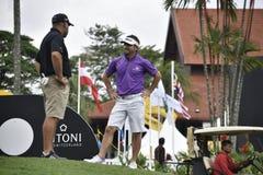 JBE Kruger, golfeur de l'Afrique du Sud Photographie stock