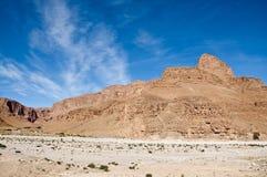 Jbel Sarho山,摩洛哥 免版税库存照片