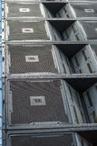 JBL Line Array Cluster Royalty Free Stock Images