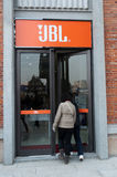 Jbl System an der Han-Straße Stockfotografie