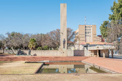 JBM Hertzog monument in Bloemfontein Royalty Free Stock Photography
