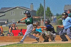 JBO Baseball hit Stock Photo
