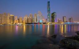 JBR Dubaj Obrazy Stock