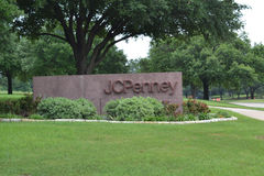 JC Penney Corporate Headquarters i Plano Texas Royaltyfri Fotografi