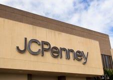 JC Penney sklep Zdjęcia Royalty Free