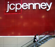 JC PENNY DEPARTMENT STORE Royalty Free Stock Photo