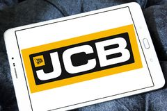 JCB λογότυπο επιχείρησης Στοκ Εικόνα