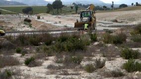 JCB στην εργασία στην Ισπανία φιλμ μικρού μήκους