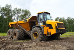 JCB 722 Articulated Dump Truck Stock Images
