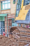 JCB HDR Royalty Free Stock Photos