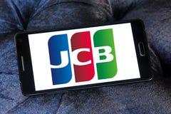 JCB kredyta firmy produkująca kartki logo Zdjęcia Royalty Free