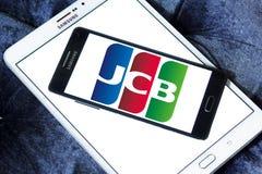 JCB kredyta firmy produkująca kartki logo Zdjęcie Royalty Free