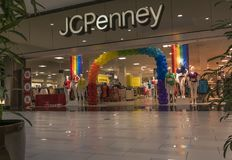 JCPenny百货大楼 免版税库存照片
