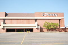 JCPenny front door Stock Photos