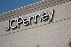 JCPenny Sign Royalty Free Stock Images