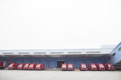 JD camiones de COM Fotos de archivo libres de regalías