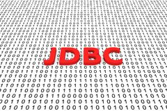 JDBC Fotografía de archivo