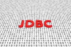 JDBC Fotografia de Stock