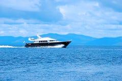 Jeûnent le bateau Photographie stock libre de droits