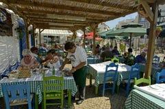 Jeść out w Algarve Obraz Stock