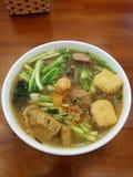 Jeść w Hanoi zdjęcia stock
