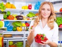 jeść zdrowo pojęcia Zdjęcie Royalty Free