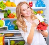 jeść zdrowo pojęcia Zdjęcia Stock