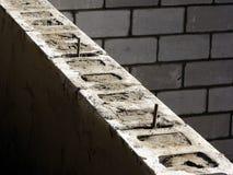 jeśli bloku betonu pod ściany domu Fotografia Royalty Free