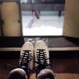 jeździć na łyżwach Zdjęcie Royalty Free