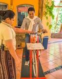 Jeździć na rowerze dla smoothies Obrazy Royalty Free