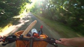 Jeździć na rowerze lato pinkin zbiory