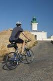 Jeździć na rowerze na Corsica Zdjęcie Stock