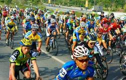 Jeździć na rowerze rasy, Azja sporta aktywność, Wietnamski jeździec Fotografia Royalty Free