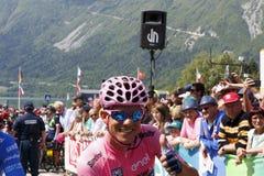 Jeździć na rowerze: 99th wycieczka turysyczna Włochy 2016/scena 14 fotografia stock