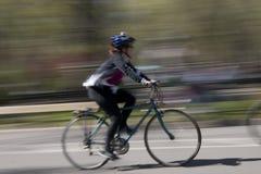 Jeździć na rowerze w central park Obraz Stock