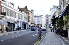 Jeździć na rowerze w Londyn Fotografia Royalty Free