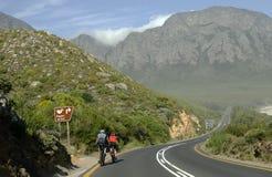 Jeździć na rowerze w Zachodniej przylądek afryce poludniowa Fotografia Royalty Free