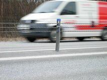 jeździć szybciej furgonetkę Obrazy Stock