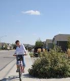 jeździec roweru Obrazy Stock