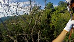 Jeździecka linia w Luksusowych dżunglach Laos zbiory