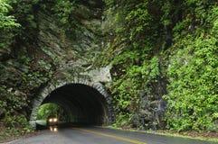 jeżdżenie samochodowy tunel Zdjęcie Royalty Free