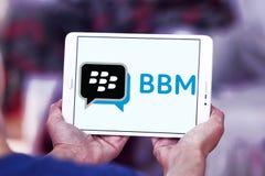 jeżynowy goniec, BBM, logo obraz stock