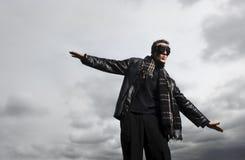 Je crois que je peux toucher le ciel Photo libre de droits