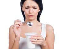 Je déteste des régimes ! photo stock