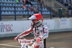 Jeździec SK Lokomotiv maksyma Bogdanov Fotografia Stock